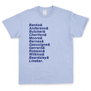 Sky Blue Favourite XI T Shirt