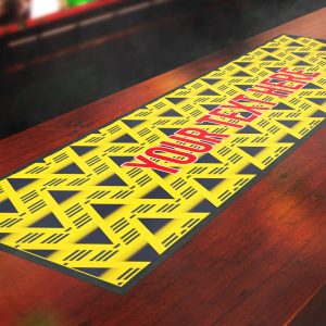 Retro Arsenal Bar Runner