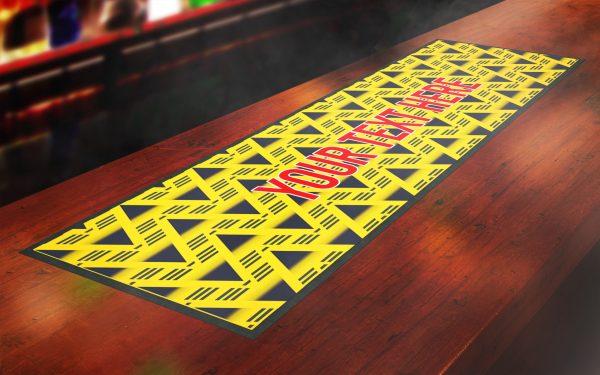 Retro Arsenal Bar Runner