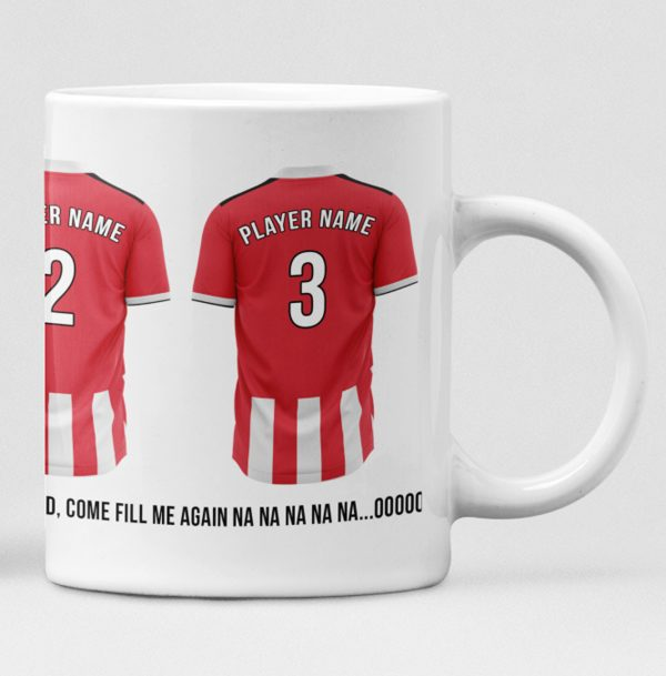 Southampton Personalised Player and Text Mug