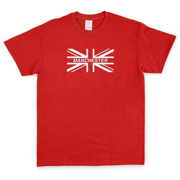 Union Jack Manchester T Shirt
