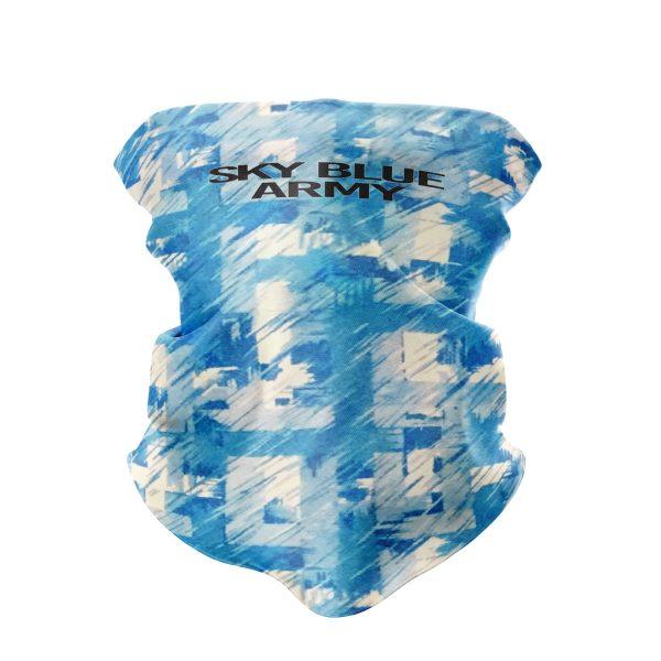 Retro Sky Blue Army Snood