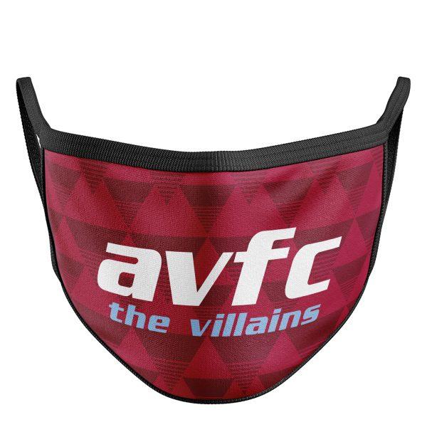 Retro The Villains Face Mask