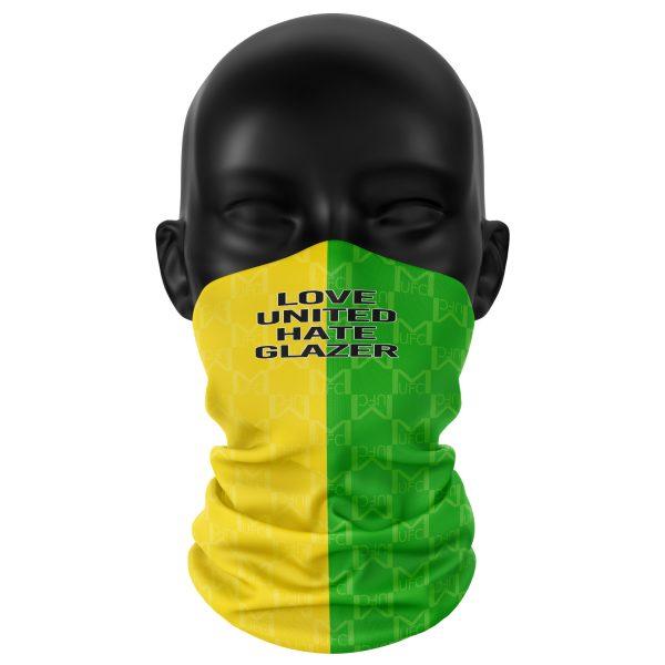 Retro Yellow & Green United Snood