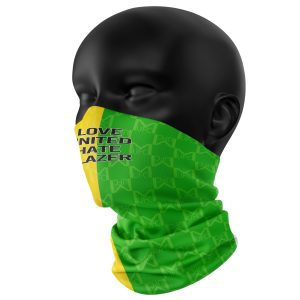 Retro Yellow & Green United Snood