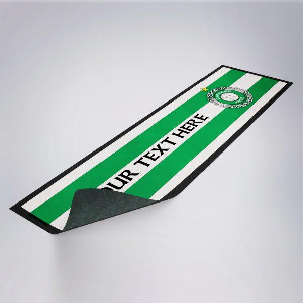 Personalised Retro Celtic Bar Runner