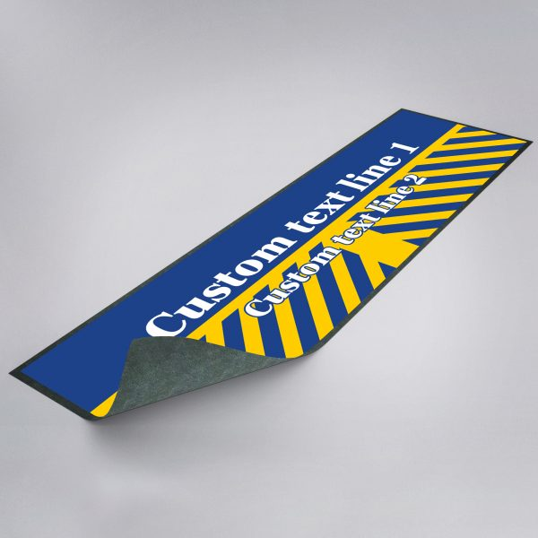 Personalised Retro Leeds Bar Runner