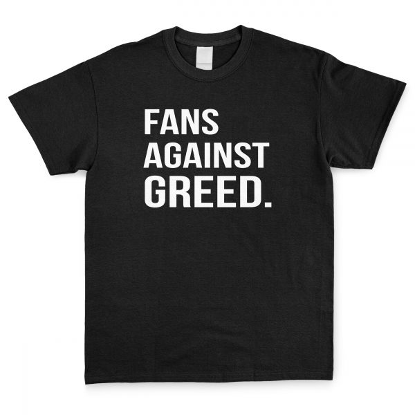 Fans Against Greed T Shirt