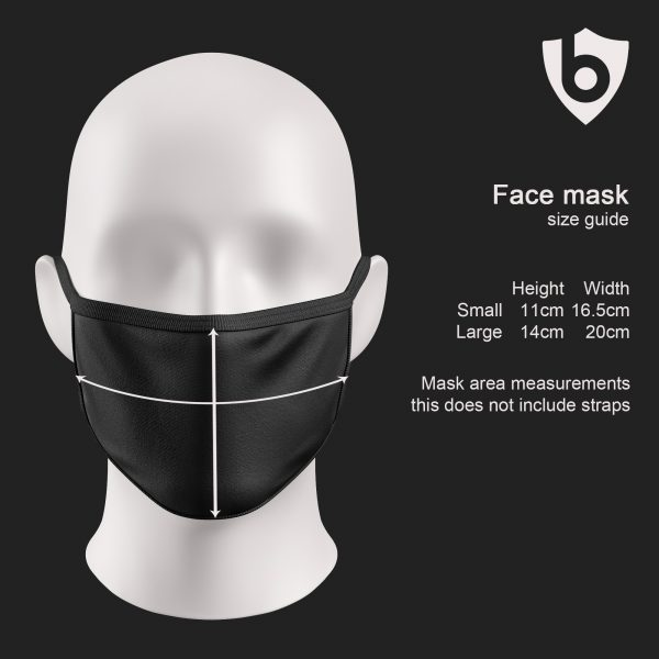 face mask size guide